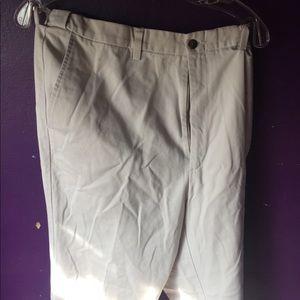 Haggar -Haggar Generations 36x34 khaki pants white